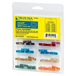 Blue Sea Комплект предохранителей Blue Sea Fuse Kit 5290 со светодиодной индикацией-5287533