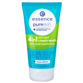 ESSENCE - Очищающий крем для умывания Pure Skin-2146092