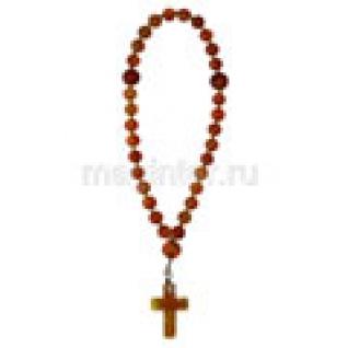 Четки православные из сердолика, 6 мм-9056786
