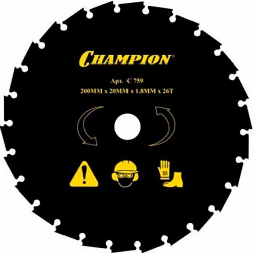 Нож CHAMPION 26/200/20 C5109-8919236