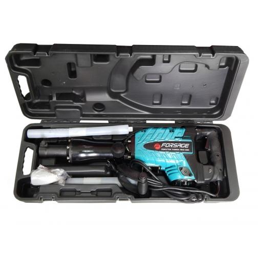 Отбойный молоток ручной электрический в кейсе (220В, 1600Вт, 1400 уд/мин, патрон Hex) Forsage electro-6003848