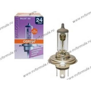 Лампа галоген 24V Н4 75/70W P43t OSRAM 64196-426304