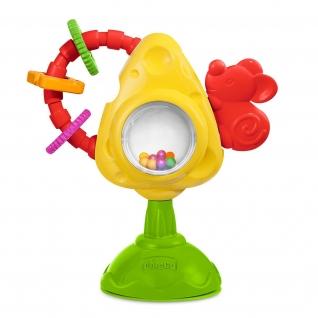 """Игрушка для стульчика """"Мышка с сыром и крекерами"""" Chicco-37708292"""