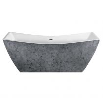 Отдельно стоящая ванна LAGARD Issa Treasure Silver