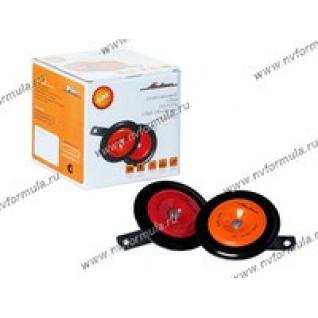 Сигнал универсальный AIRLINE 110мм 315/415Гц 118дБ 12В дисковый комплект-9061102