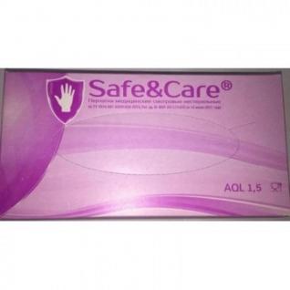 Мед.смотров. перчатки нитрил., н/с, н/о, S&C LN308 (S) 100 пар,фиолетовые
