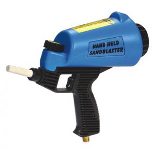 Пескоструйный пистолет со встроенной емкостью для песка 1л Forsage-6002633