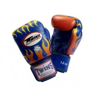 Twins Special Боксерские перчатки Twins FBGV-7, 8 унций, Синий