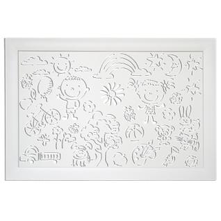 Декоративный экран Квартэк KIDS 600*900 мм (пепел, белый, клен, дуб, бук, вишня, орех, венге)-6769294