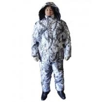 Костюм зимний Охотник (куртка+ полукомбинезон) тк. Олова расцветка зимний Лес