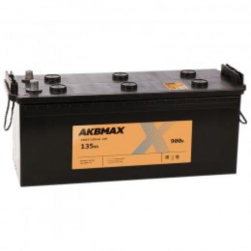Автомобильный аккумулятор AKBMAX AKBMAX 135 рус 900А прямая полярность 135 А/ч (513x189x218)-6663930