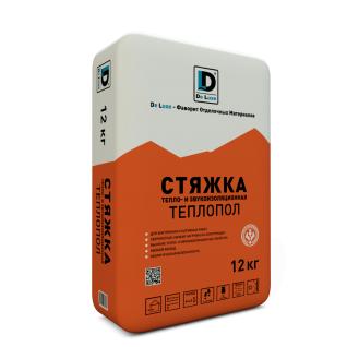 """Стяжка тепло-звуко изоляционная """"Теплопол"""" De Luxe 12 кг-6433161"""