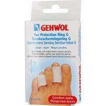 Кольцо на палец Геволь G, среднее, 30 мм