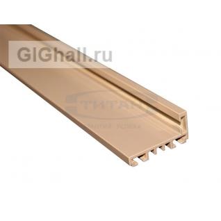 TI-801Н RAL 1035 (Бронза) Комплект AL (L-обр.) дверной коробки с уплотнителем и уголками, L= 6000mm