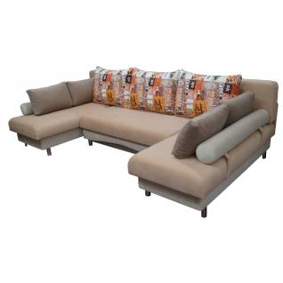Палермо 1 угловой диван-кровать с двумя канапе-5271104