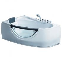 Акриловая ванна Gemy с гидромассажем (G9046-II K)