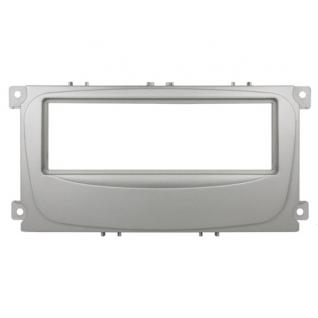 Переходная рамка Intro RFO-N11S для Ford Focus 2 рестайл, Mondeo (08+) C-Max, S-Max, Galaxy (07+) 1DIN Silver Intro-835021