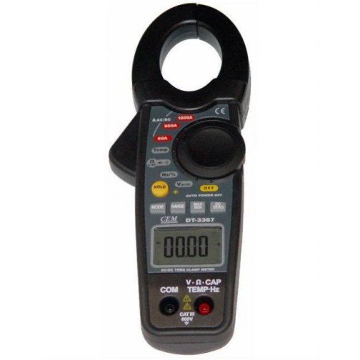 Профессиональные токовые клещи СЕМ DT-3367-6766023