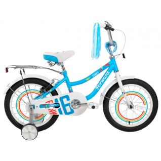 Велосипед Forward Funky Girl 16 (2017) голубой-7155386
