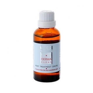 GIGI Derma Clear Post Treatment Drops - Капли Противовоспалительные Заживляющие