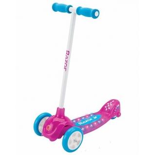 Детский трехколесный самокат с подсветкой Razor Lil Pop для девочек-6721885