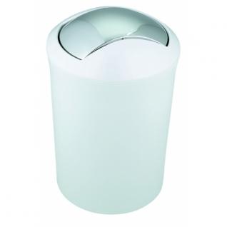 Ведро для мусора Spirella MALIBU пластик белый 30см д.19см