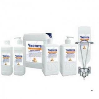 Дезинфицирующее мыло Чистота Антисептик 1,0 л (с дозатором)-37867215
