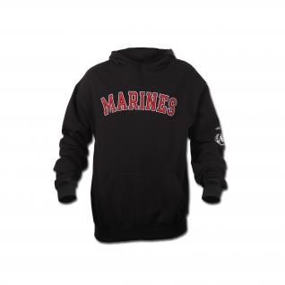 Rothco Толстовка Rothco Marines, цвет черный-5029821