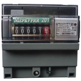 Электросчетчик Меркурий 201.6 однотарифный-1427234