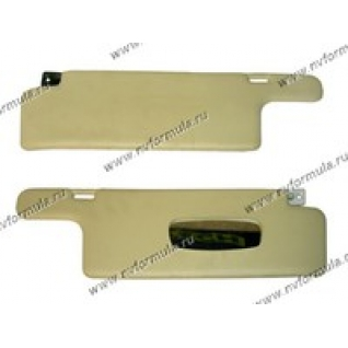 Козырьки солнцезащитные 2108,09,099 жесткие с зеркалом-420257
