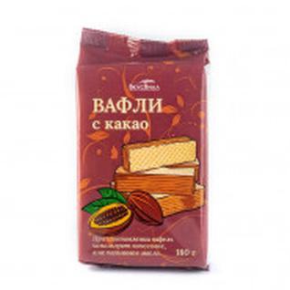 Вафли Вкусвилл с какао, 180г