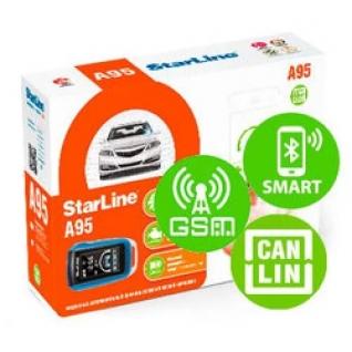 Автосигнализация StarLine A95 BT CAN+LIN GSM StarLine-8185250