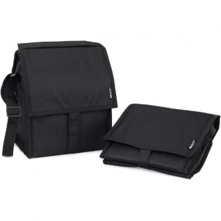 Сумка Холодильник Deluxe Lunch Bag (черный, 6,5л)