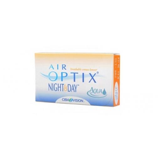 Аir Optix Night and Day Aqua. Оптич.сила -4,75. Радиус 8,6-4058190