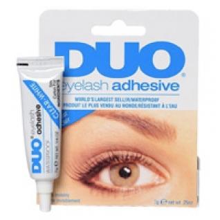 Косметика для визажистов - Клей для накладных ресниц DUO белый