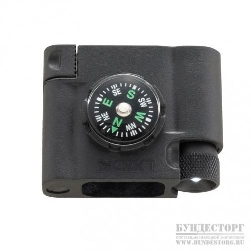 CRKT Компас Stokes Survival Bracelet Accessory - Compass L.E.D & Fire Starte-5033530