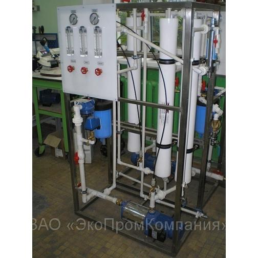 Установки обессоливания воды и опреснения 0,5 - 100 м3/час, 600 литров в час-5332642
