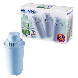 Комплект картриджей Аквафор В100-5 (для жесткой воды, 3штХ12)-9159787