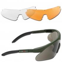 Swiss Eye Очки солнцезащитные Swiss Eye Raptor оливкового цвета