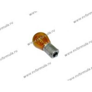 Лампа 12V21W BAU15s NARVA 17638 желтая-415644