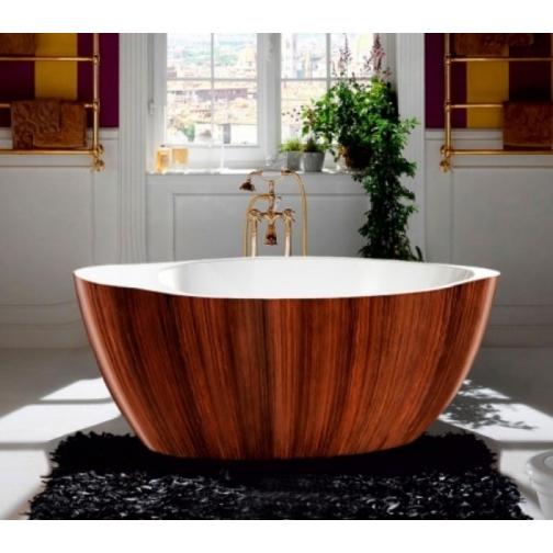 Отдельно стоящая ванна LAGARD Versa Brown Wood 6944902 1
