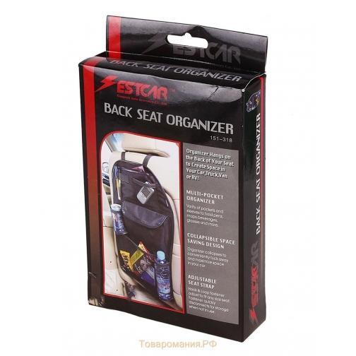 estcar Органайзер с карманами на спинку водительского сидения-5833822