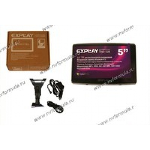 Навигатор GPS Explay ND-52B диагональ 127мм Навител-429914