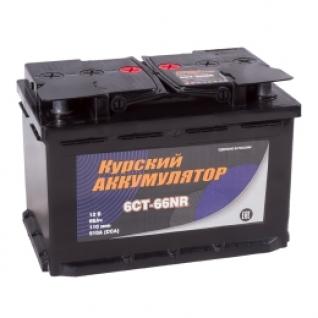 Автомобильный аккумулятор Курский Аккумулятор Курский 66R 510А обратная полярность 66 А/ч (276x175x190)