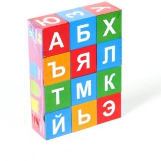 """Кубики """"Учимся - играя!"""" - Азбука Stellar-37723835"""