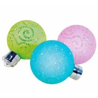 Световая фигура Feron LT034 Стеклянные новогодние шары, 3шт.-8229084