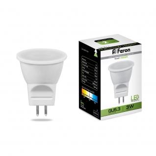 Светодиодная лампа Feron LB-271 (3W) 230V G5.3 4000K MR11-8164321