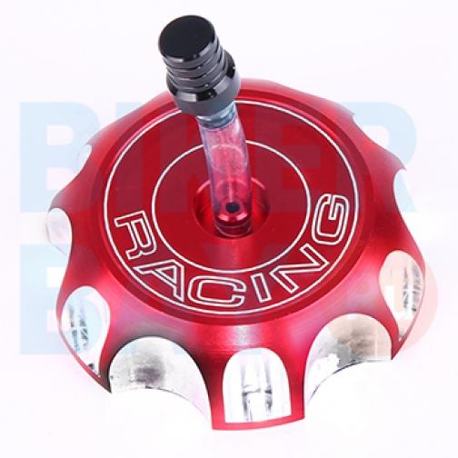 Крышка бака топливного 60mm CROSS (цв. красный)-8173693