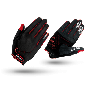 Велоперчатки GripGrab SuperGel XC, M, Black/Red