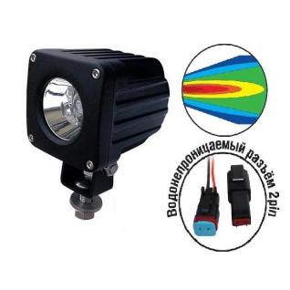 Светодиодные фары OFF-Road AVS Light SL-1410A (10Вт)